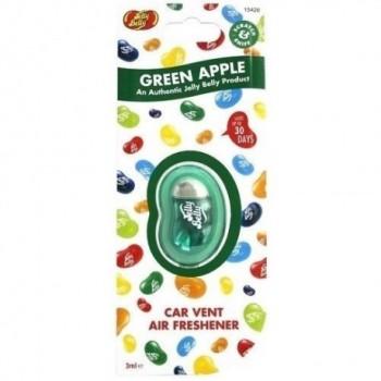 Jelly Belly Car Vent Air Fresh - Green Apple