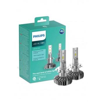 Philips LED H7 6200K 1 Pair