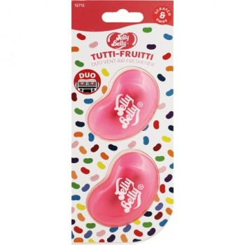 Jelly Belly Duo Vent 2 Pk Tutti Fruitti Fragrance