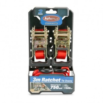 Ratchet 2pack Heavy Duty 3 Mtr
