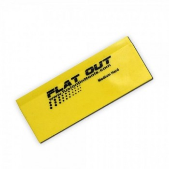 5 inch Yellow Flat out...